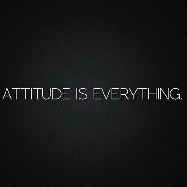 attitude it changes everything essay