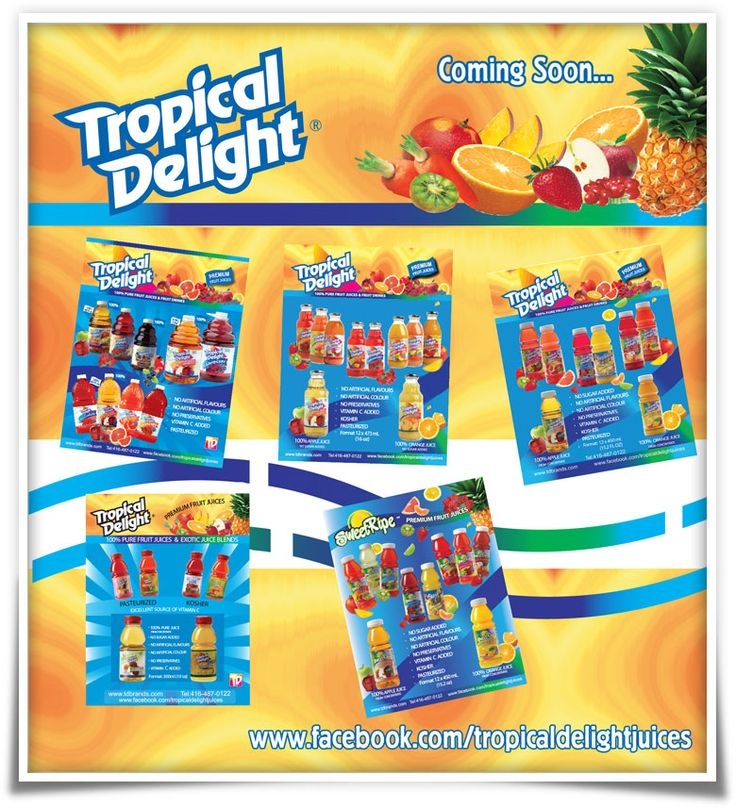 Tropical Delight - Coming Soon