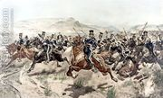 The Charge of the Light Brigade, 1895  by Richard Caton Woodville