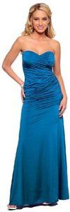 Strapless Long Designer Evening Dress
