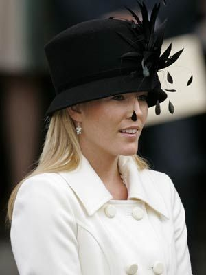 Autumn Phillips, daughter-in-law of HRH The Princess Royal