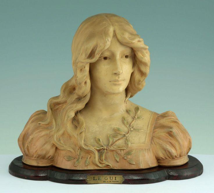 Aristide de Ranieri Italienische Jugendstil Terracotta Büste 1900 Le Gui Italy | eBay