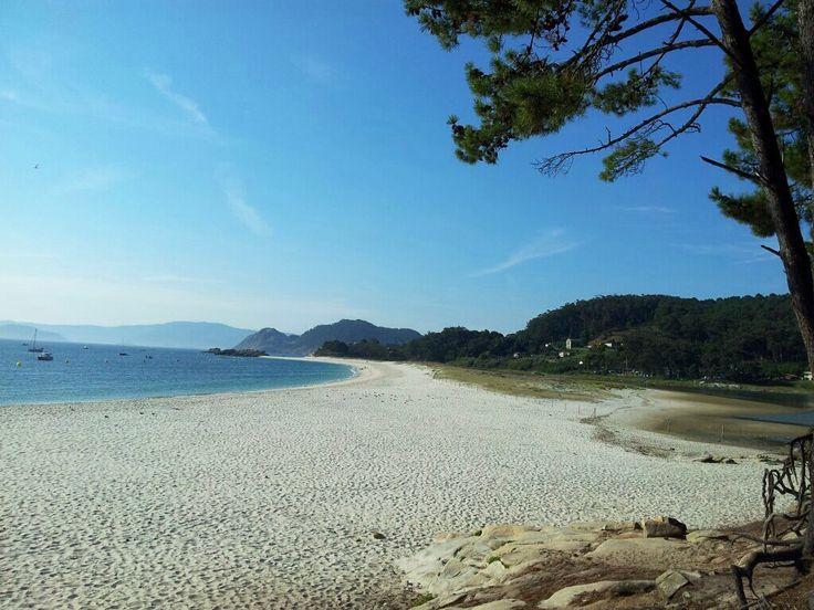 Playa de Rodas - Islas Cíes (Galicia - España) Rodas Beach  - Cíes Islands (…