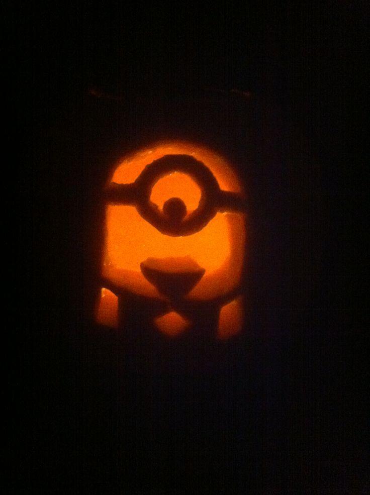 Best ideas about minion pumpkin carving on pinterest