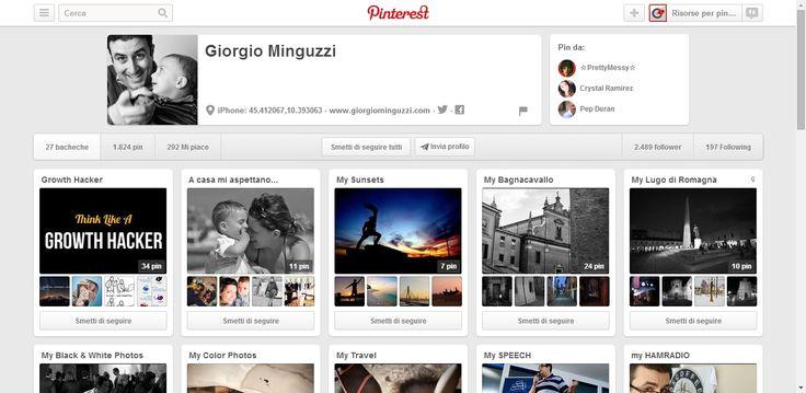 Giorgio Minguzzi Profile on Pinterest