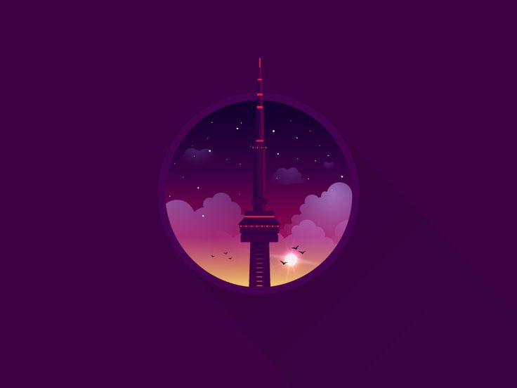 I'd like to dedicate this illustration to my Croats in Canada. I remember going on the top of this beautiful building four years ago. It's almost half of my icon a day project.  Follow: Tumblr | Tw...