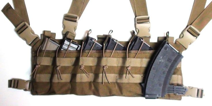Strike Hard Gear - SKS Magazine Chest Rig, $74.95 (http://strikehardgear.com/sks-magazine-chest-rig/)