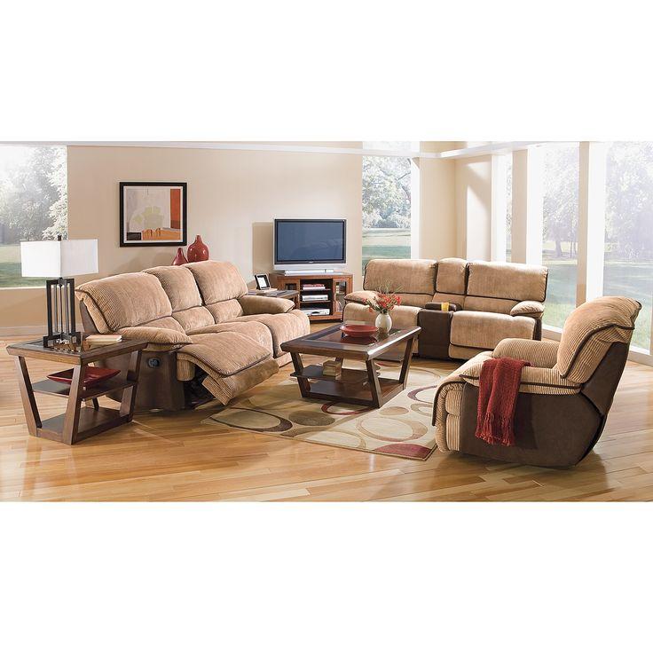 Laguna 3 Pc Reclining Living Room American Signature Furniture New House Furnishings More