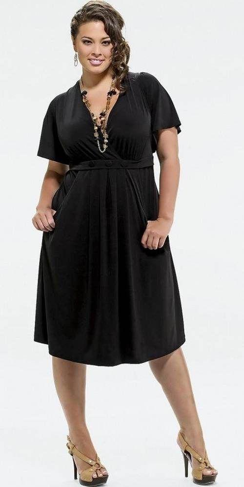 Moda Estilo Y Distinción Para Gorditas: Moda para gorditas: Vestidos casuales de moda