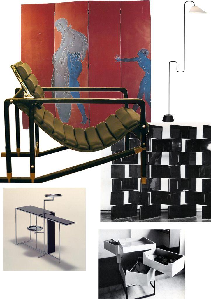 25 b sta eileen gray id erna p pinterest alvar aalto gio ponti och eames. Black Bedroom Furniture Sets. Home Design Ideas