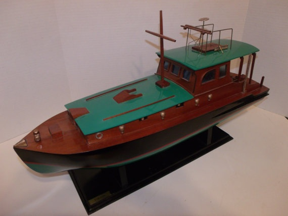 Ernest Hemingway's Fishing Boat Pilar by Thetoolroom on Etsy, $120.00