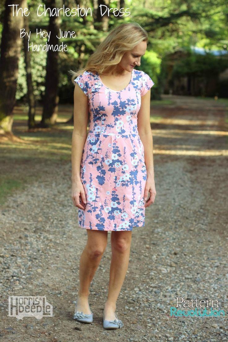 The Charleston Dress by Hey June Handmade — Pattern Revolution