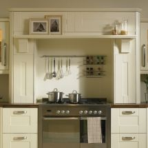 Kitchen Mantle with Narrow Shelf - By BA Components