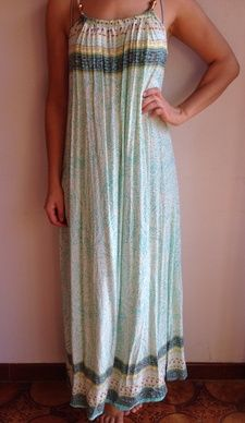 Soft green maxi size 8-10 brand new