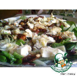 Рецепты салата с сушеными томатами