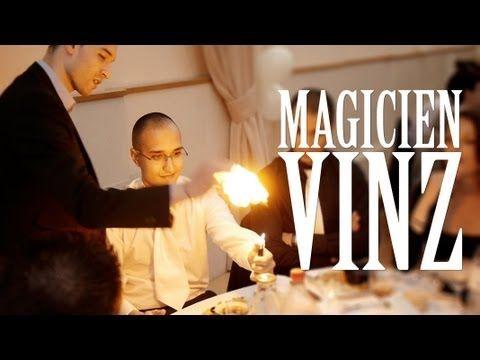 Vinz Magicien / Mariage / Spécial balles mousse - YouTube