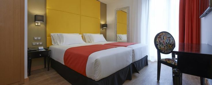 Rooms of the Hesperia Barri Gòtic - Barcelona Ample, 31. | NH Hotel Group