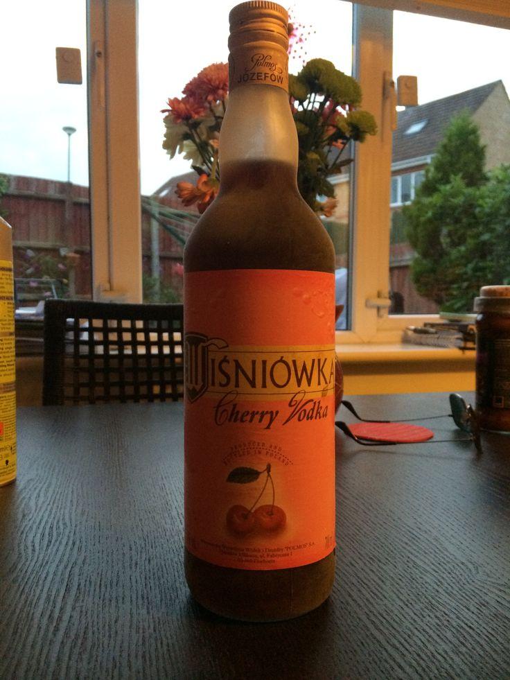Wisniowka. Polish cherry vodka. The drink of love!!!