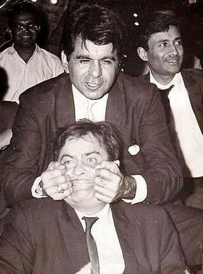 Dev Anand, Dilip Kumar and Raj Kapoor in a single photo