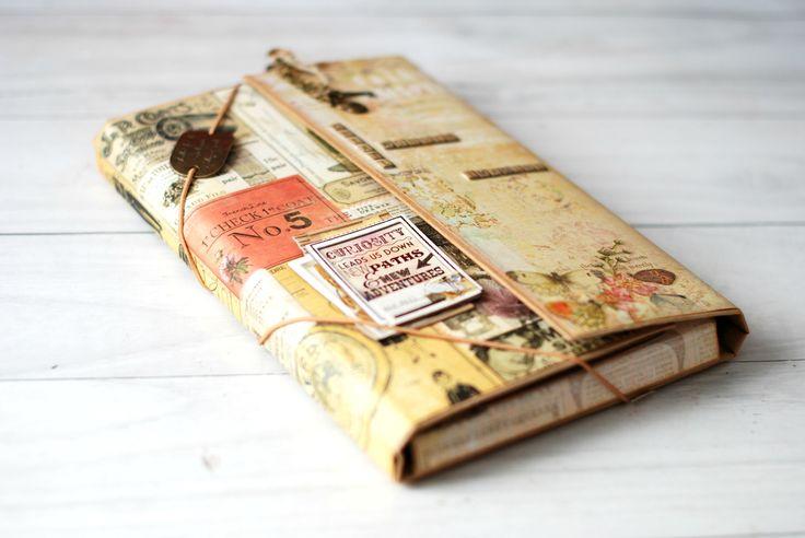 Tutorial Carpeta Travel Book / Portfolio