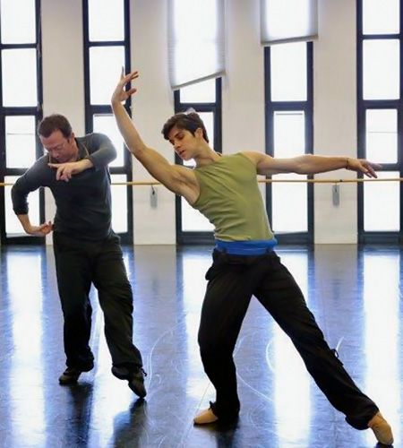 Roberto Bolle and Alexei Ratmansky creating Opera Alexei Ratmanskys Opera at La Scala