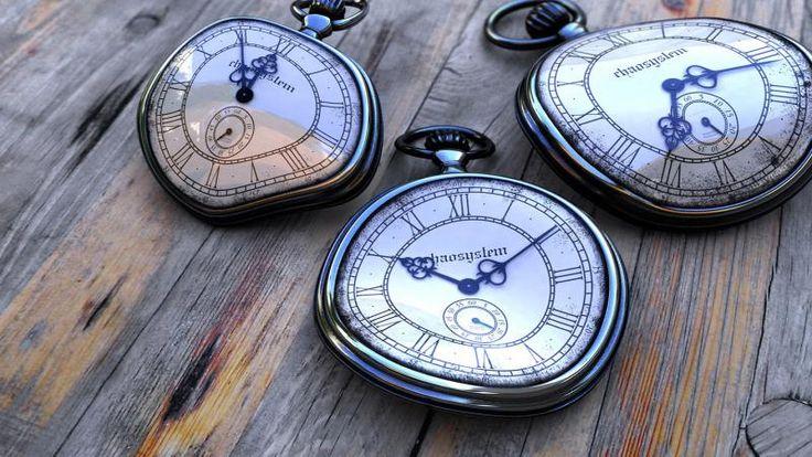 3d Beautiful Three Watches