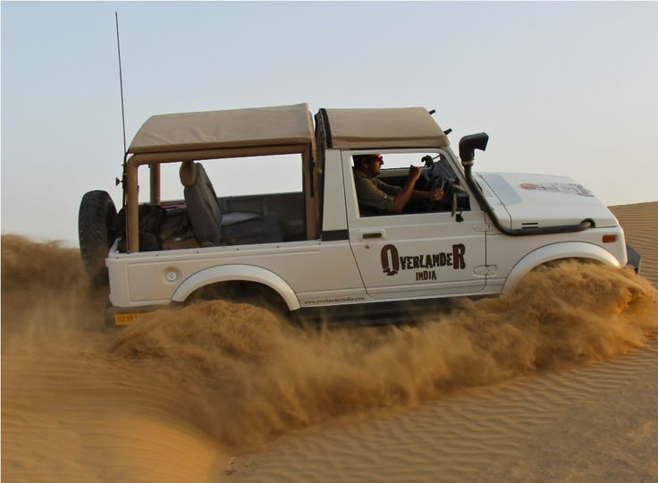 #OverlanderIndia is led by passionate #motorists Ajit Rana and  Uday Bhan Singh, and focuses on #rural and #wilderness #driving through scrub country on quality four by fours for an #OffRoad #DuneDriving #experience literally through uncharted territory. #RareIndia #RareTravel2015 #Explore More: http://bit.ly/1wGQXGg