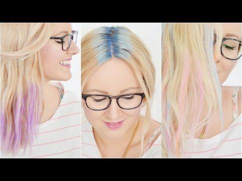 Haarkreide auftragen | 3 Arten, Frühlingstrends, Tutorial