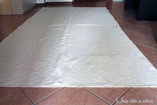 Tutorial per cucire le tende classiche su due bastoni, con passanti invisibili, senza dover usare gli anelli di ferro. Fai da te le tende per risparmiare!
