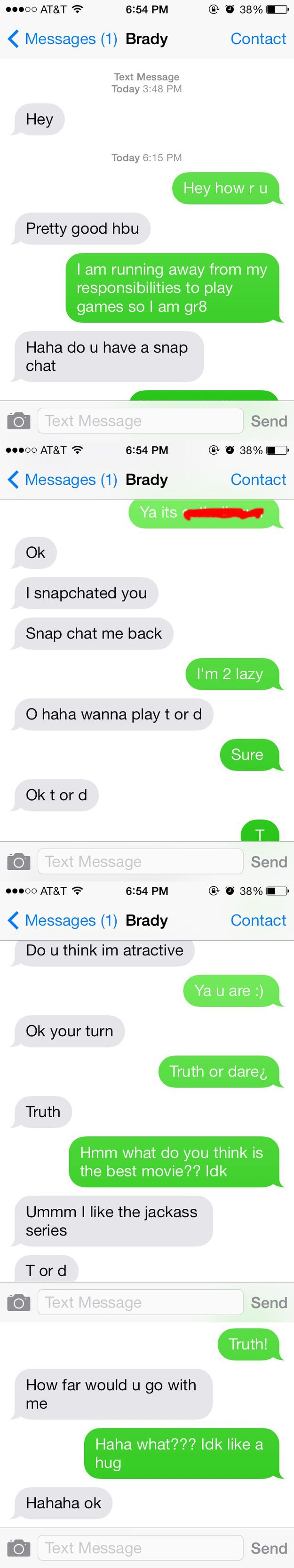 Good T Or D Questions For Guys Over Text