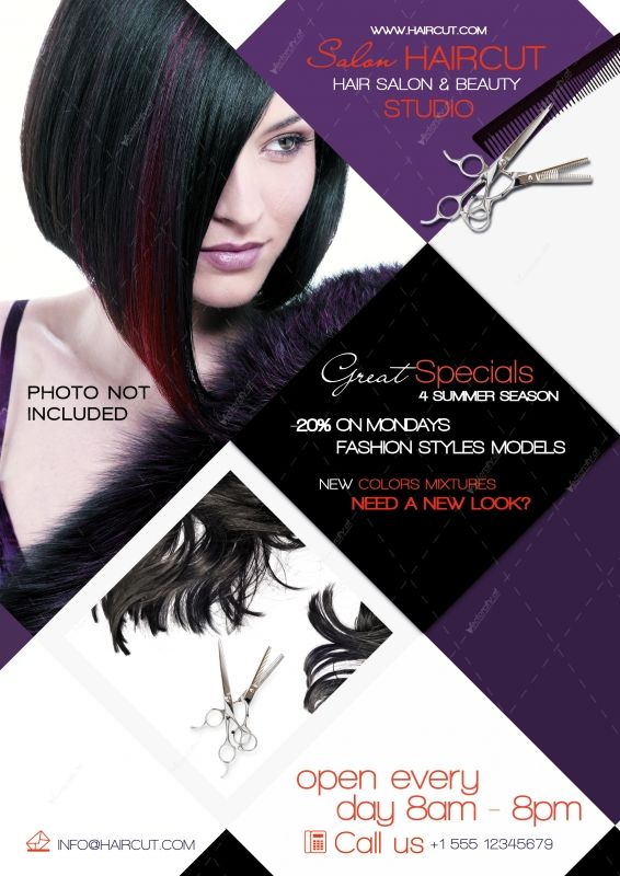 Best Salon Ideas Images On   Advertising Flyers