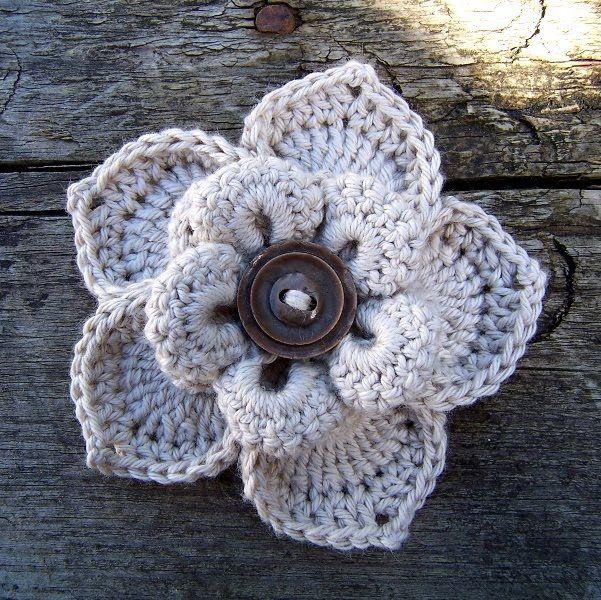 innovart en crochet: Practiquemos flores!!!!