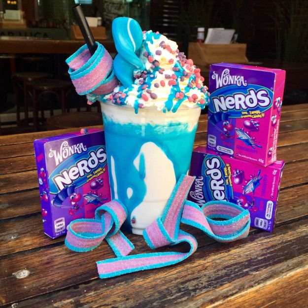 Bar Luca have also created this glorious Nerds shake, which would undoubtedly…