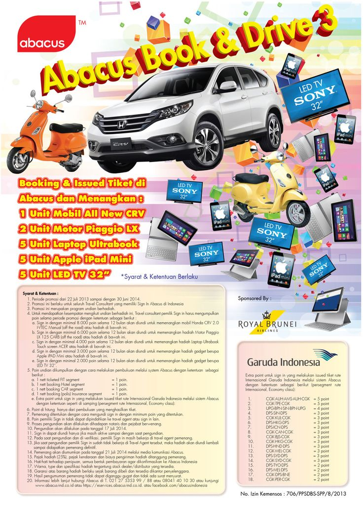 Abacus Book & Drive 3 Promo Flyer