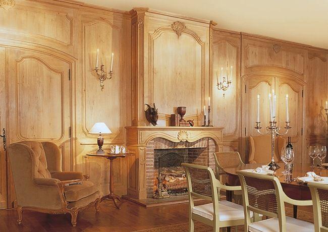French styled paneling - Lefevre Interiors.