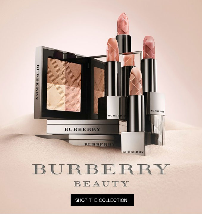 Discover the Burberry Beauty Collection @thebeautyclub