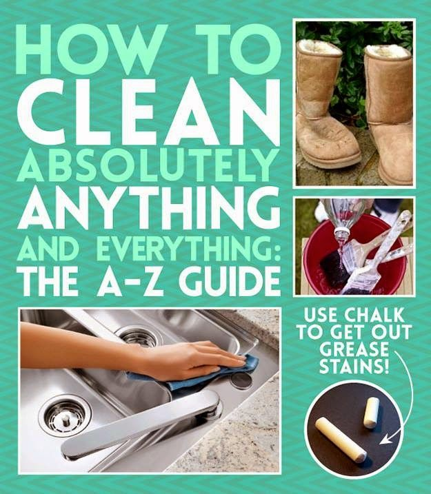 Ideas & Products: How To Clean (Almost) Anything And Everything