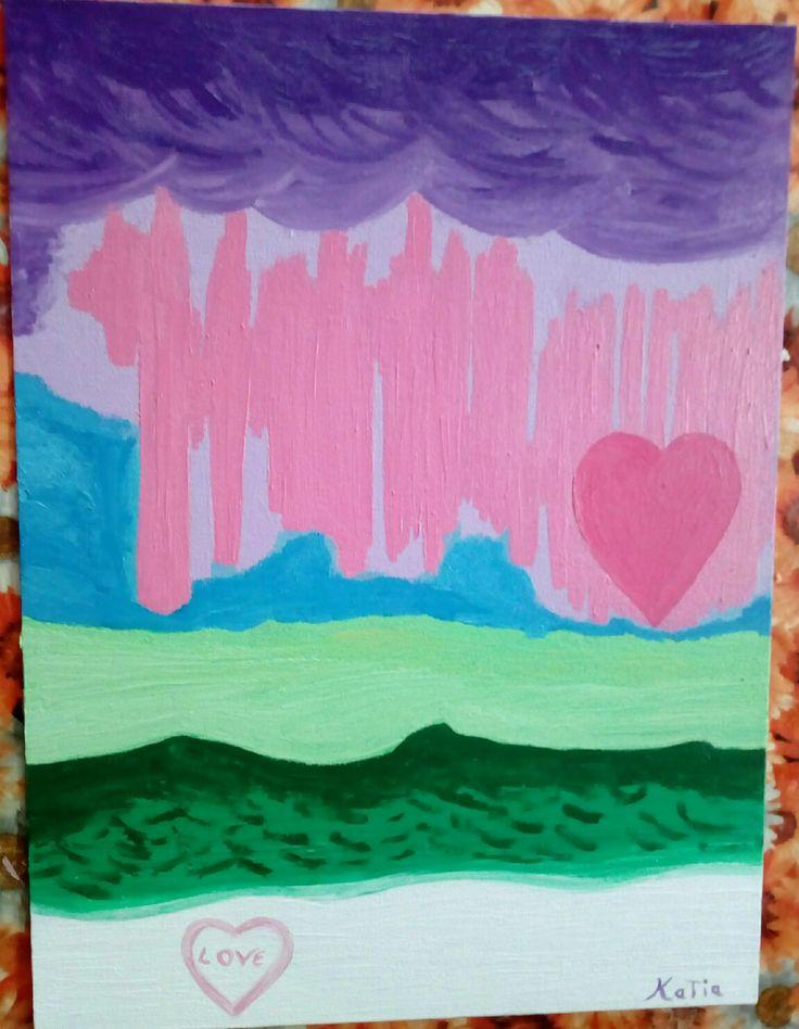 LOVE is the answer (Aurora Borealis)