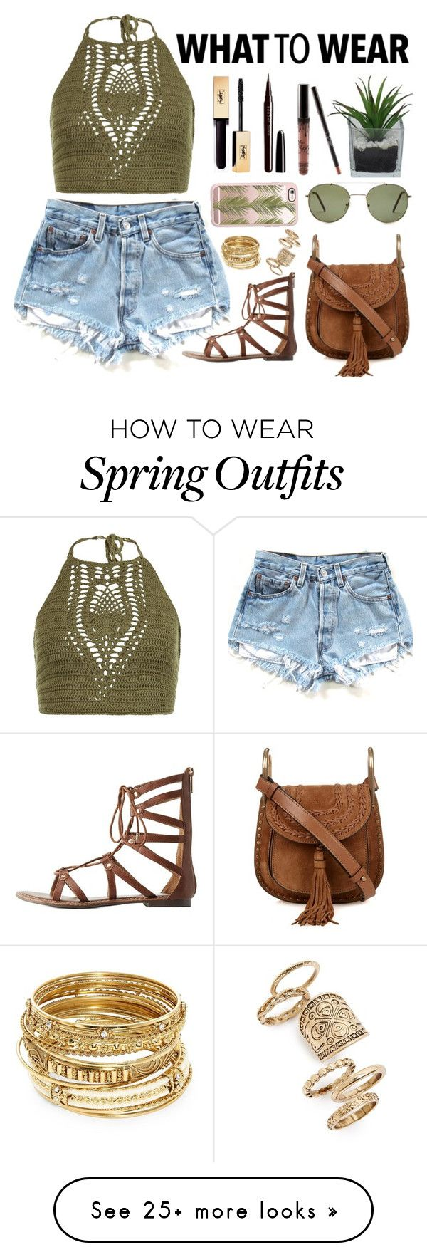 """road trip outfit"" by jenwolf2121 on Polyvore featuring New Look, Charlotte Russe, Chloé, Forever 21, Casetify, ABS by Allen Schwartz, Topshop, Marc Jacobs and Threshold"