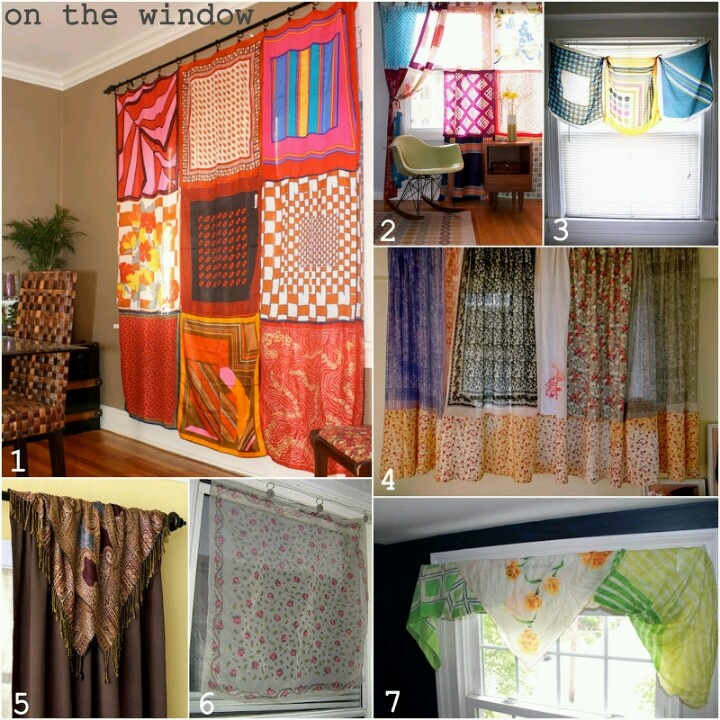 35 Best Curtain Scarfs Images On Pinterest