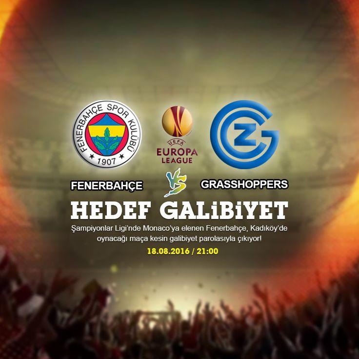 Kadıköy'de gruplara bir kala! Fenerbahçe mutlak favori olduğu Avrupa Ligi playoff turunda İsviçre ekibi Grasshoppers ile karşılaşıyor. EN YÜKSEK ORANLAR DİNAMOBET'TE... https://www.dinamobet4.com/tr/sports#/