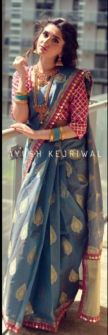 Saree by Ayush Kejriwal For purchase enquires email me at ayushk@hotmail.co.uk o...