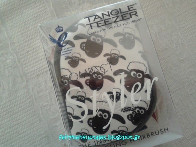 Fairy make-up tales . . . . : Moroccan Oil and Shaun the Sheep, Compact Tangle Teezer....