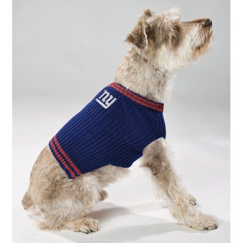 ad068575d ... New York Giants Dog Jersey (Discontinued) Pittsburgh Steelers V Neck Dog  Pet Sweater NFL All Sizes (Small) -- Special ...