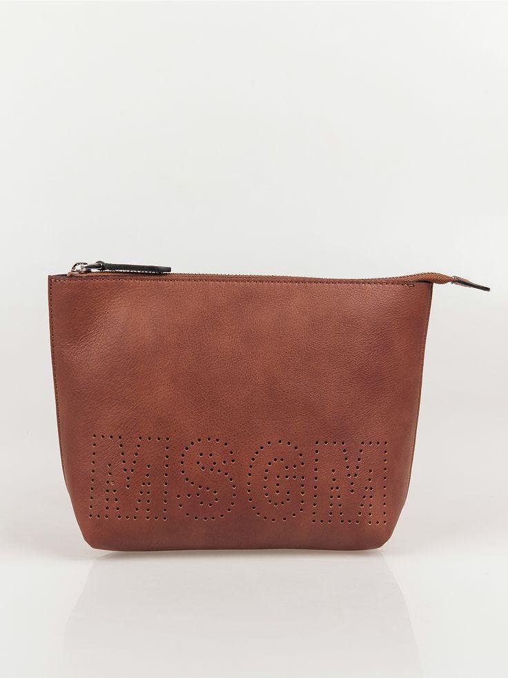 MSGM , Brown Pochette Çanta #shopigo#shopigono17#shoponline#womenswear#sneakers#MSGM