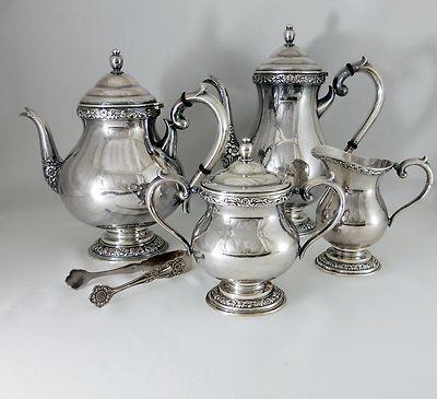 107 best silver tea sets images on Pinterest
