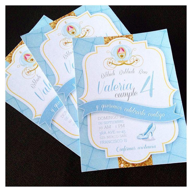 Cinderella invitation