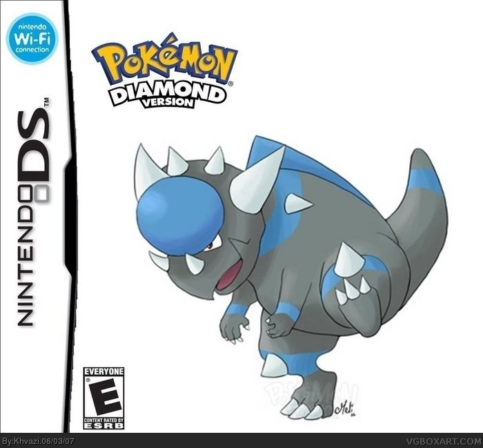 Diamond Pokemon Box Art Images  Pokemon Images
