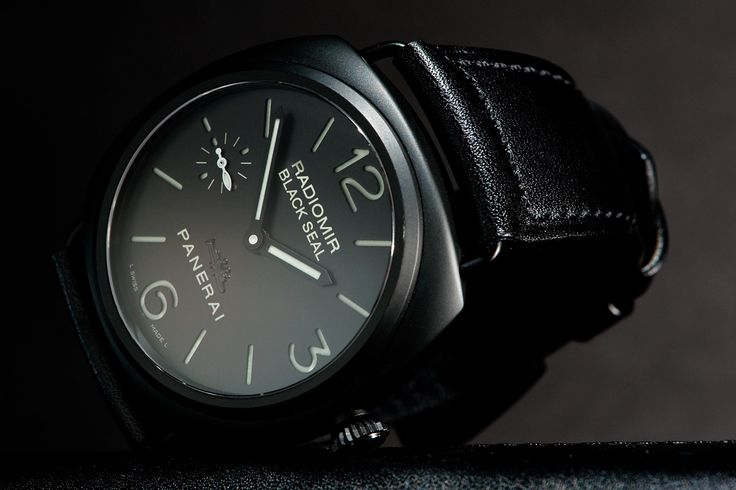 Panerai Marina Militare Black Seal Watch