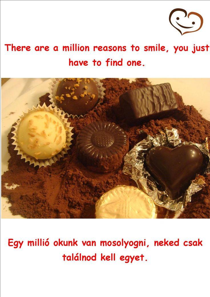 4. day - Handmade chocolate quotation #smilebrand #smilechocolate #mosolycsoki #quotations #smile #happiness #boldogság #csoki #csokoládé #quotes #handmade #fourthday #onemillion #reason #find